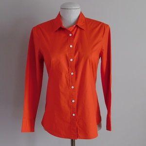 J CREW HABERDASHERY Reddish-Orange Dress Shirt